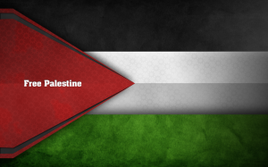 Beautiful Free Palestine Flag